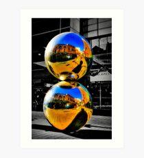 Malls Balls (Spheres) Art Print