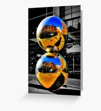 Malls Balls (Spheres) Greeting Card