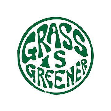 Grass is Greener Green by kay-la-vie