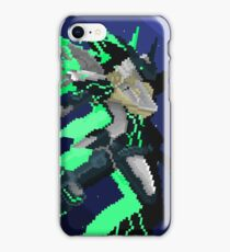 Zone of the Enders - Pixelart Jehuty iPhone Case/Skin