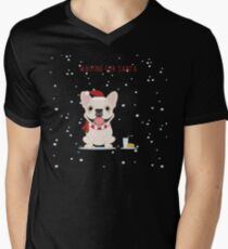 Frenchie Waiting for Santa - Cream Edition T-Shirt