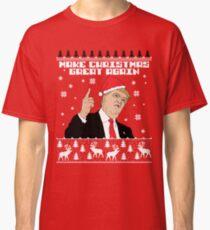 Trump Make Christmas Great Again Classic T-Shirt