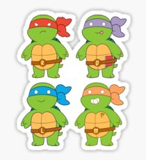 Turts and Emotes Sticker