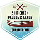 Paddle & Canoe Equipment Rental by SportsT-Shirts