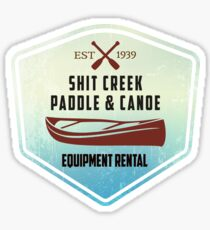 Paddle & Canoe Equipment Rental Sticker