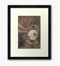 Pearl of the sea Framed Print