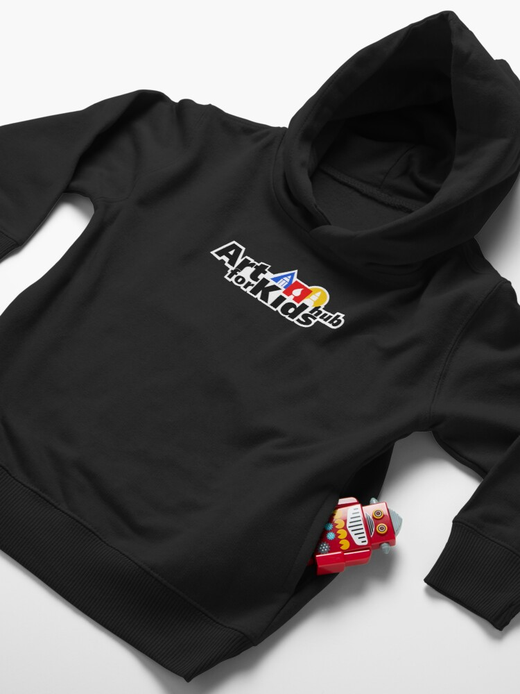 Alternate view of Art For Kids Hub Toddler Pullover Hoodie