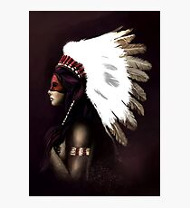 Native American  Photographic Print