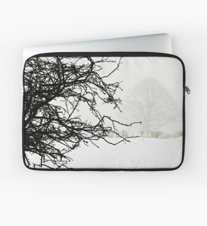 Impending blizzard Laptop Sleeve