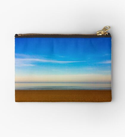 Filey, North Yorkshire Zipper Pouch