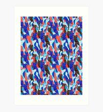 Abstract vector seamless pattern Art Print