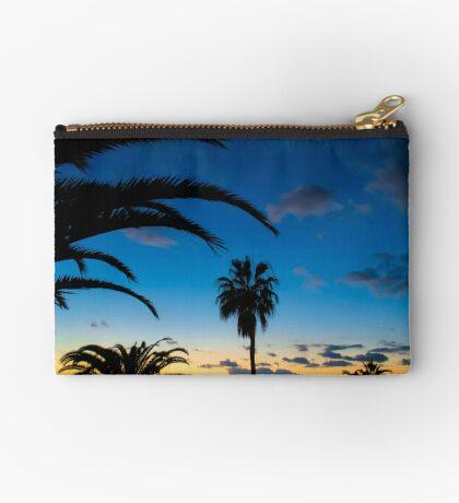 Sunset in Tenerife Zipper Pouch