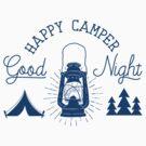 Happy Camper by SportsT-Shirts