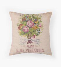 Le Bouquet Throw Pillow