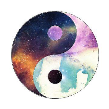 Space Yin Yang  by KWarDC