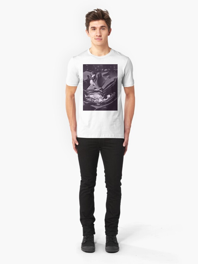Alternate view of Suicide is Painless Slim Fit T-Shirt