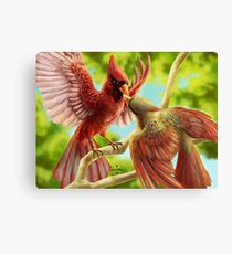 Time for Cardinals Canvas Print