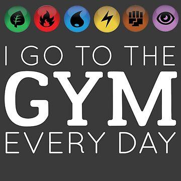 Voy al gimnasio todos los días de Caretta