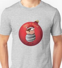 Bauble and Squeak - Christmas Emo Hamster Unisex T-Shirt
