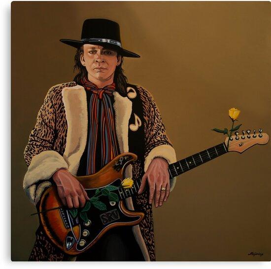 Stevie Ray Vaughan by PaulMeijering