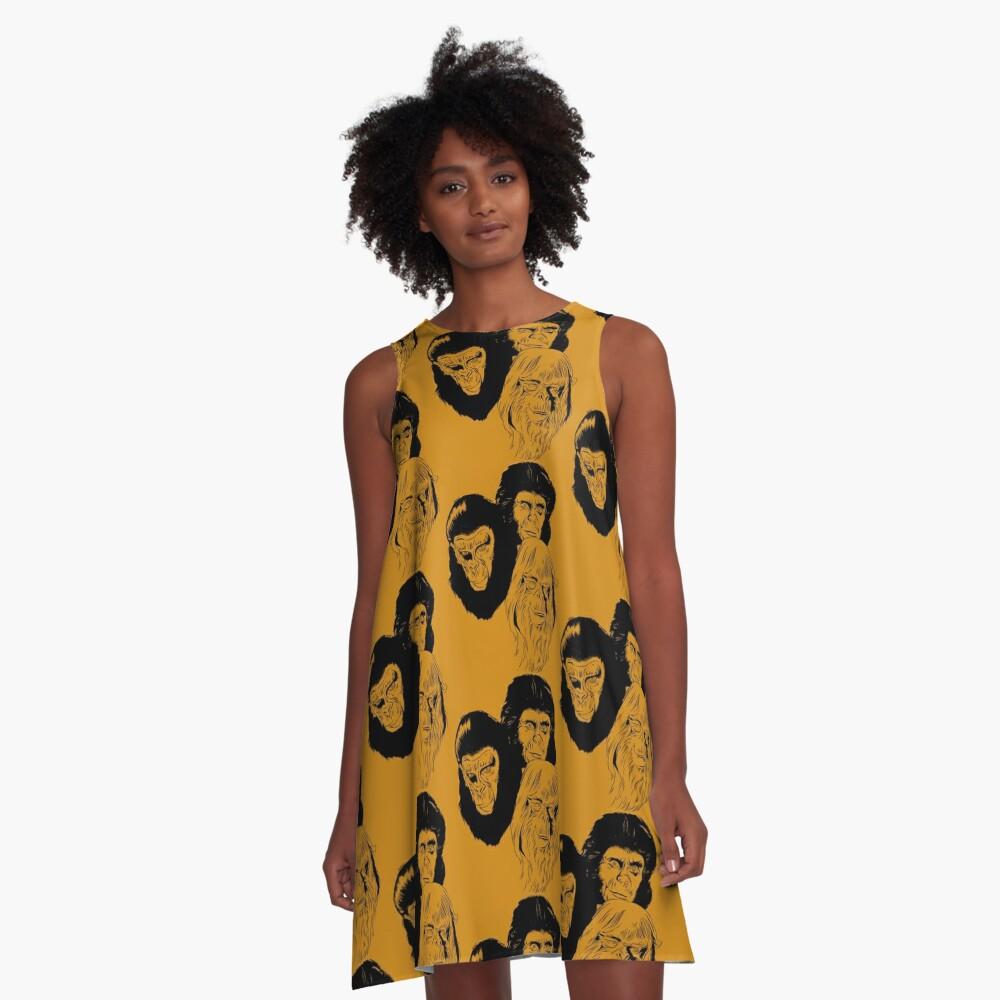 Ape Planet! A-Line Dress