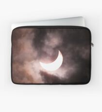 Crescent Sun beyond the Clouds Laptop Sleeve