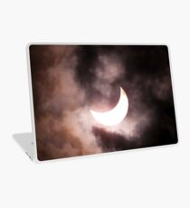 Crescent Sun beyond the Clouds Laptop Skin