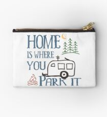RV Camping Home Zipper Pouch