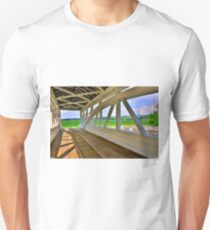 Spectacular View From Osterburg-Bowser's Covered Bridge Unisex T-Shirt