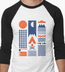 Simplify Men's Baseball ¾ T-Shirt