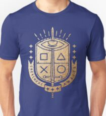 Playstation - Greatness Awaits Kings Crest Unisex T-Shirt