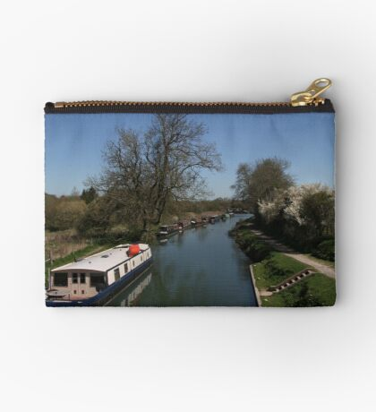View From A Bridge - Kennet and Avon Canal Studio Pouch