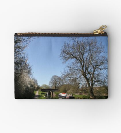 Bridge Near Bedwin - Kennet and Avon Canal Studio Pouch