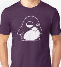 TUX Penguin in a bad mood, LINUX  Unisex T-Shirt