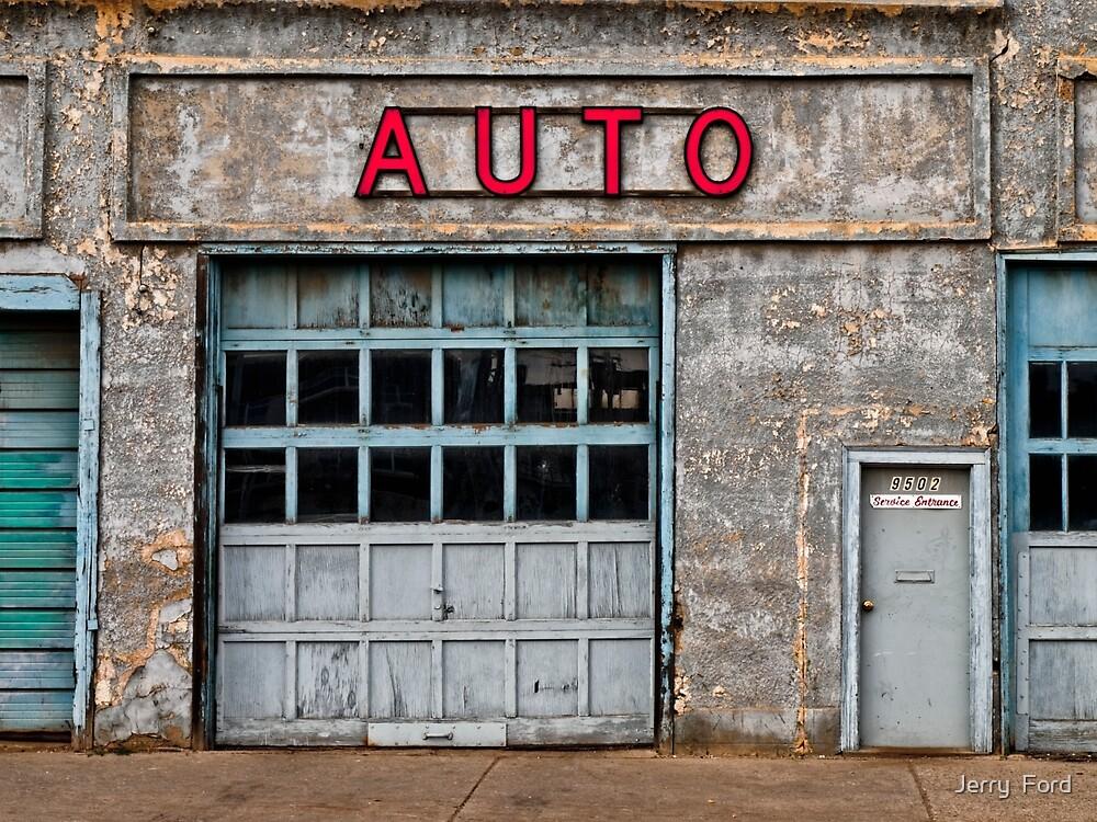 Auto Shop by Myron Watamaniuk