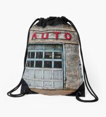 Auto Shop Drawstring Bag
