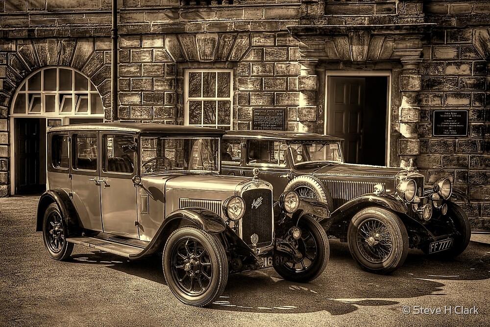 Austin Six and Invicta Pre War Cars - Sepia\