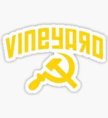Vineyard Hammer & Sickle Sticker