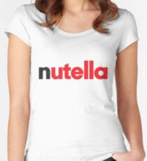 Nutella Women's Fitted Scoop T-Shirt
