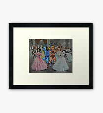 Dance Hall Days Framed Print