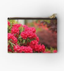 Gardening in Red Studio Pouch