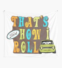 Ford Escort MK1  Wall Tapestry