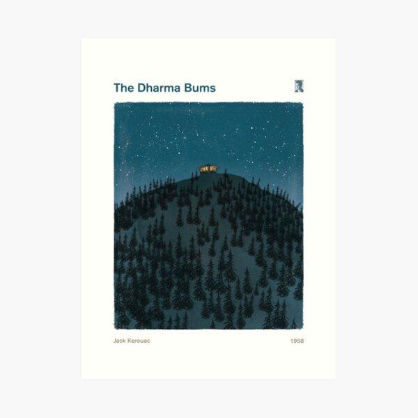 El Dharma Bums - Jack Kerouac Lámina artística