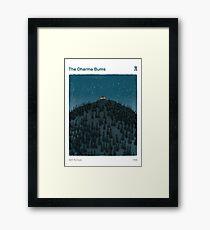Die Dharma Bums - Jack Kerouac Gerahmtes Wandbild