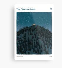 The Dharma Bums - Jack Kerouac Metal Print