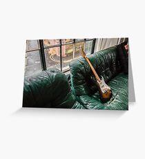 Fender Stratocaster - Sunburst  Greeting Card