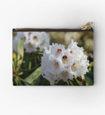 Red and White Ericaceous Splendour Studio Pouch