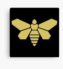 Golden Moth Chemicals Canvas Print