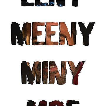 Eeny Meeny Miny Moe (Negan) by adamtwd88