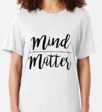 Esprit sur la matière T-shirt ajusté